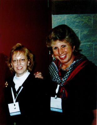 Nancy and Charlene in 1993