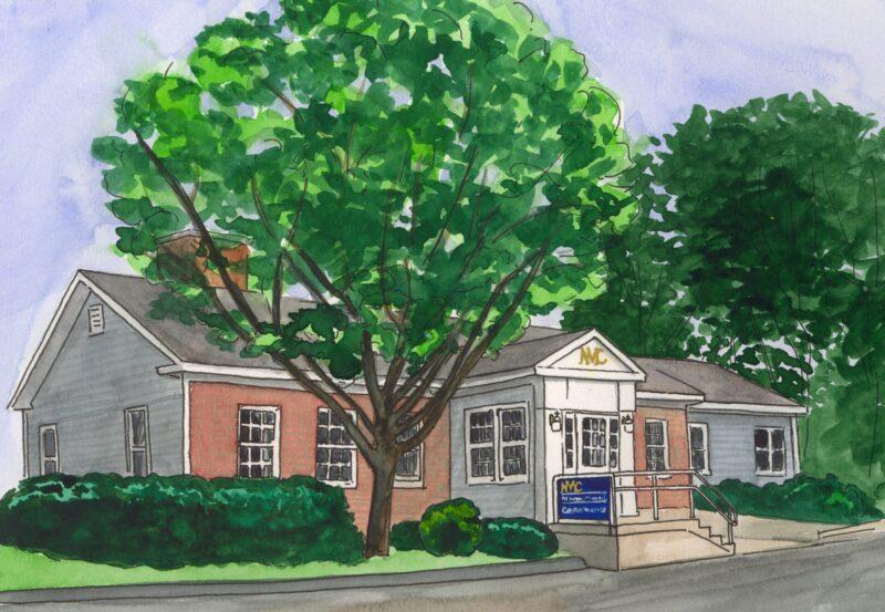 Western Ave Office Illustration