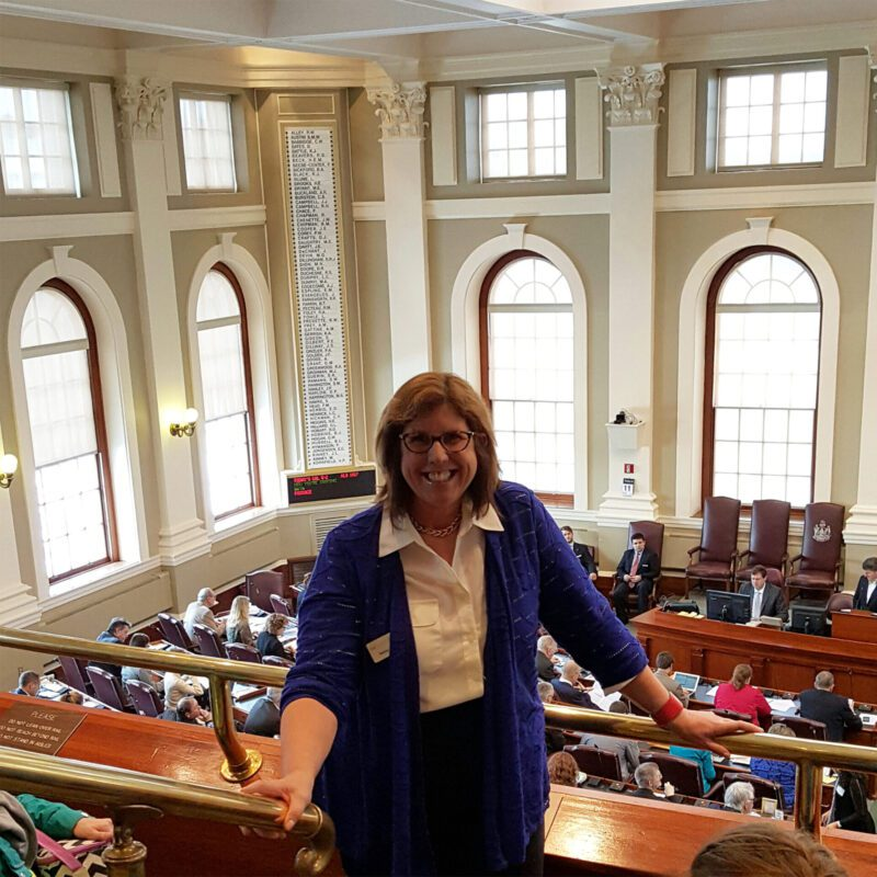 Nancy at State House