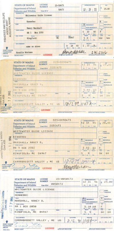 Whitewater Rafting License