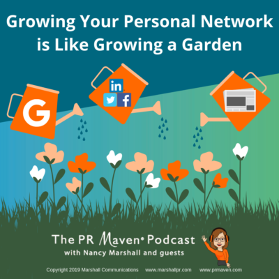 Growing your personal network is like growing a garden