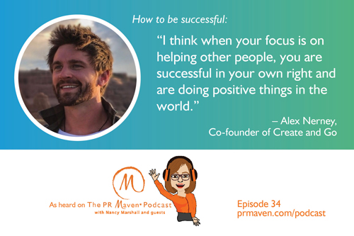 Alex Nerney, Co-Founder of Create and Go