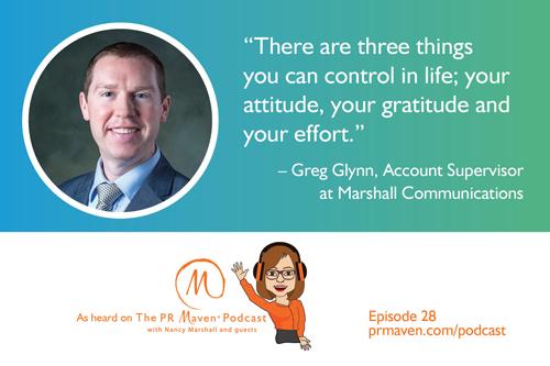 Greg Glynn, Account Supervisor at Marshall Communications