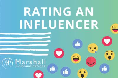 Rating an Influencer