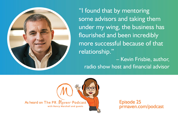 Kevin Frisbie, Author, Radio Show Host and Financial Advisor
