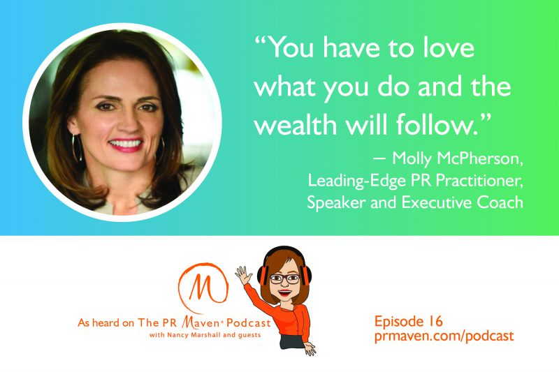 Molly McPherson, Leading-Edge PR Practitioner, Speaker and Executive Coach