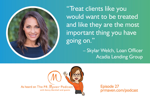 Skylar Welch, a loan officer at Acadia Lending Group