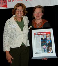 Nancy Marshall and Amber Lambke