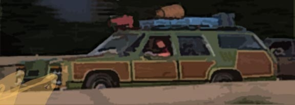 Graphic of a station wagon